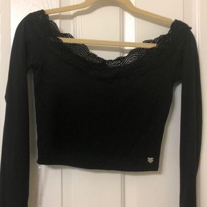 kendall & kylie off shoulder top from pacsun